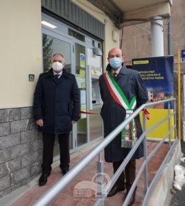 floresta – inaugurato il postamat, importante servizio, curato da poste italiane