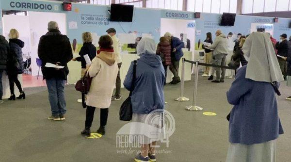 """sicilia – covid: over 60 e """"fragili"""" al vaccino senza prenotazione"""